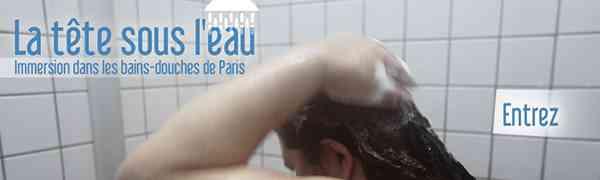 FRANCE : La tête sous l'eau, immersion dans les bains-douches de Paris