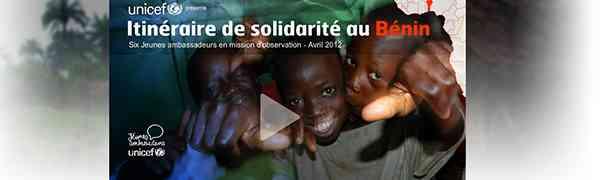 HUMANITAIRE : Itinéraire de solidarité au Bénin