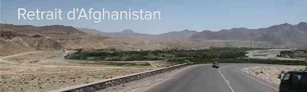 CONFLIT : Retrait d'Afghanistan