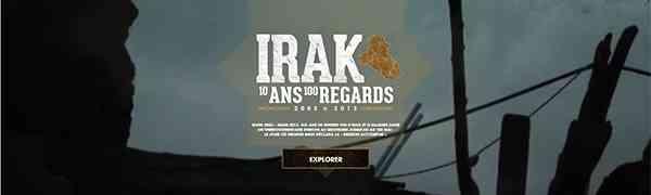 IRAK : 10 ans, 100 regards