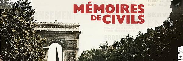 memoires de civils, histoire, france, seconde guerre mondiale, occupation, wwii, guerre