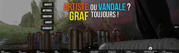 FRANCE : Artiste ou vandale ? Graf toujours !
