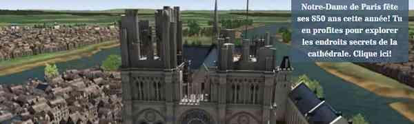 FRANCE : Découvre les secrets de Notre-Dame de Paris !