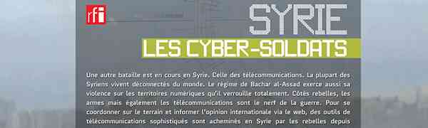 SYRIE : Les cyber-soldats