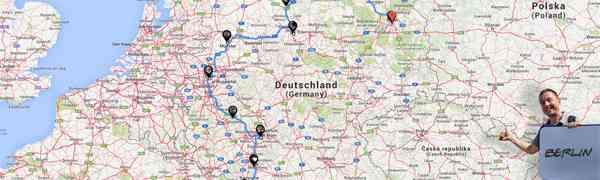 ROAD TRIP : L'Allemagne sur le pouce